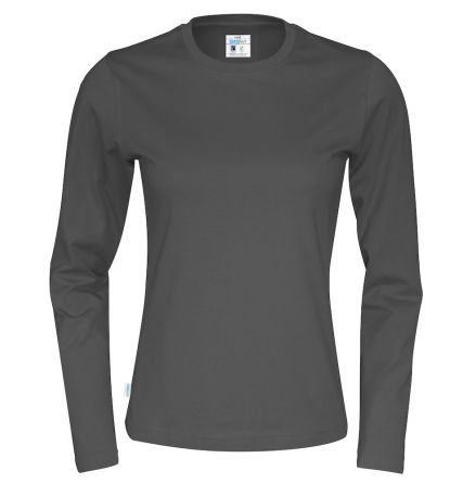 Långärmad dam t-shirt med 100% ekologisk Fairtrade bomull